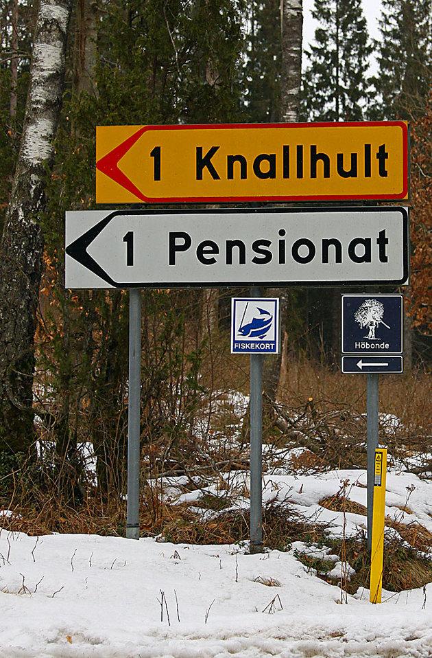 Ca 22 NM från Hyltebruk..