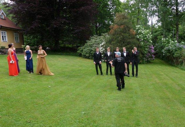 """En """"Behind the Scenes"""" från det tillfället. Foto: Ewa Fors."""