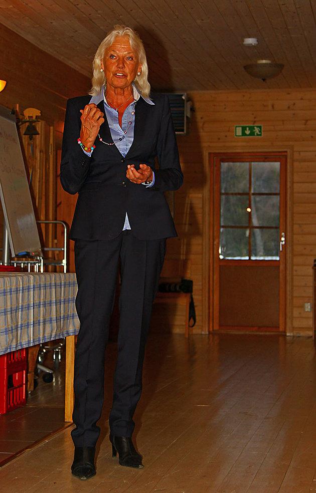 I söndags firade Pensionat Sågknorren 10 års jubileum med bla Karin Starrin fd Landshövding i Halland som gästtalare