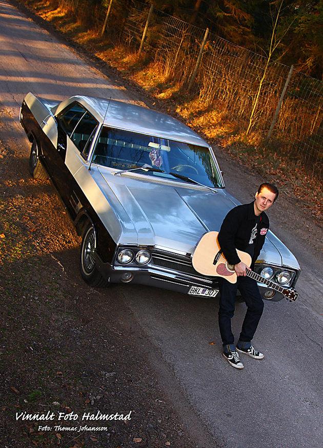 Buick Wildcat 65:a....just det musikern Sebbe var det visst  focus skulle ligga på...
