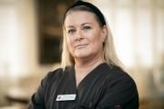 Susanne Persson, undersköterska/receptionist
