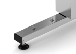 Buttons for electrical height adjustment