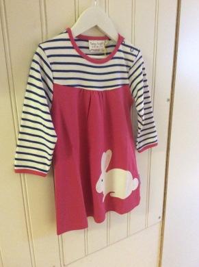Klänning barn kanin - Klänning barn 2-3 år