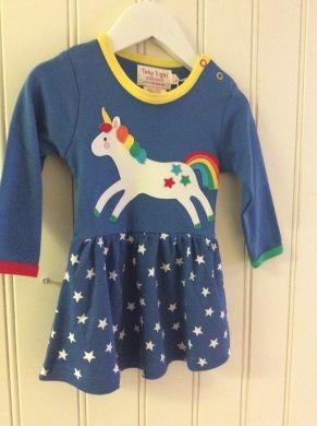 Klänning barn häst - Klänning barn 6-12 mnd