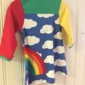 Klänning barn regnbåge