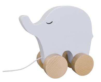 Jabadabado Dragdjur elefant -