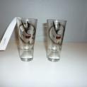 Glas dödskalle Nybro - Shot-/snapsglas dödskalle Nybro