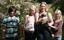 Lill Tibben's Calvin-Klein och matte Jennie med familj i Skepplanda