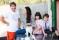 Zunshine at Khaos med sin familj på Mallorca
