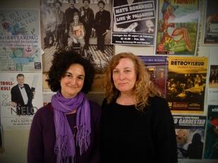 Rita Pascácio och Ingrid Trulls Klasson