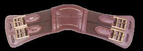 KARLSLUND anatomisk lädergjord, brun