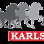 KARLSLUND Silikonhalsband med islandshästsmycke