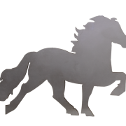 KARLSLUND Islandshäst dekal
