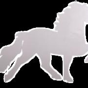 KARLSLUND Liten islandshäst dekal