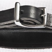 ÁSTUND Curb strap leather connector