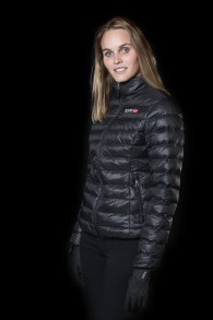EQUES Female jacket - M Svart