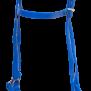 KARLSLUND SuperStrap träns - Blå m. silverspännen