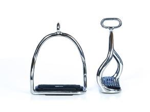 EQUES Black Edition S-stigbyglar - Rostfritt stål