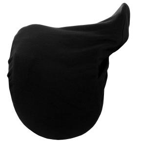 TOP REITER sadelöverdrag Fleece - Svart med logo