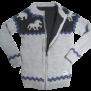 KARLSLUND ulltröja med fleece