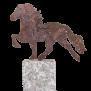 KARLSLUND Häst på granitsten