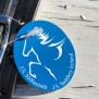 J.S Saddlery hubudlag m. snabbhake