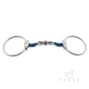 FAGER´s Tongue Relief Copper Roller Wings Bit - JULIA