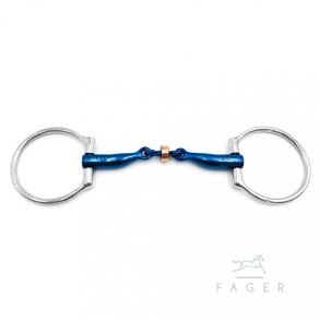 FAGER´s Titanium Anatomic Copper Roller Eggbutts bit SALLY
