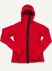 66 North Vík Wind Pro women´s jacket - Röd stl L