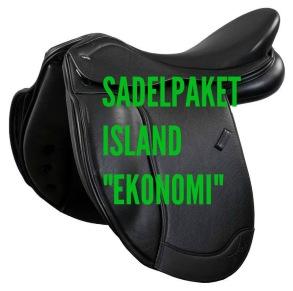 Sadelpaket Island Ekonomi (Värde c.a 11500kr)