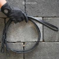 HRÍMNIR lädertygel med enkelspänne