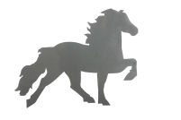 KARLSLUND bildekal Islandshäst