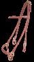 KARLSLUND komplett rundsytt träns, hannoveran - Brun, Mässing