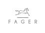 FAGER Curb Chain kindkedja - Svart