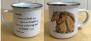 Mugg med handmålat Islandshästmotiv - Mugg Some will test
