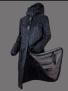 UHIP Regular Sport Coat stall- och ridregnkappa - Navy Blue 46