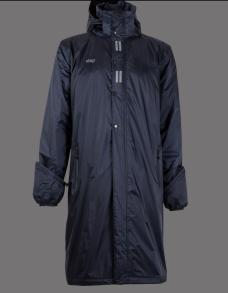UHIP Men's Regular Sport Coat Navy - Ridregnkappa för män! - Navy Blue S