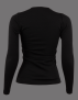 UHIP Merino wool LS Top Black