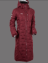 UHIP Coat Ice - Vinterridkappan! - Zinfandel Red 46