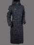 UHIP Coat Ice - Vinterridkappan! - Blue Graphite Grey 46