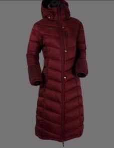 UHIP Coat Nordic ridkappa - Blue Zinfandel Red 34