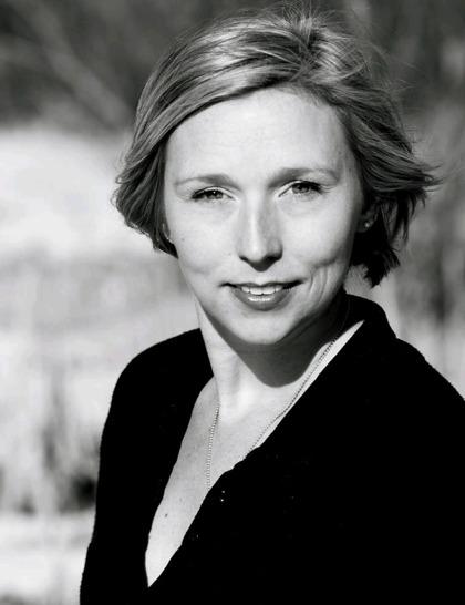 Anna Wallner, författare. Foto: Frida Johansson Metso