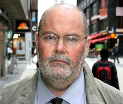 Jan-Erik Svensson, författare. Foto: Åke Alvin