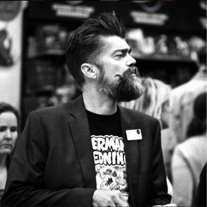 Jonas Darnell, författare. Foto: Magnus Lindgren