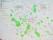 De gröna fläckarna är nu befintliga grönområden.