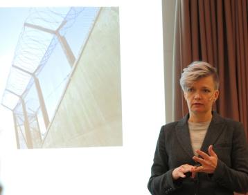 Anna Lindberg i aktion