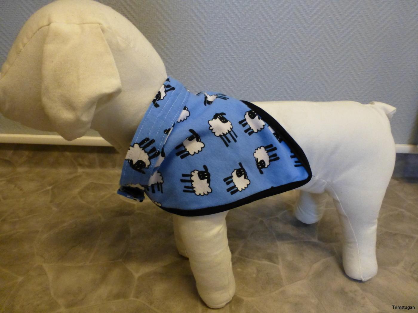 Blå scarf