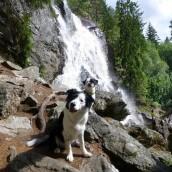 Vattenfall vid norska gränsen