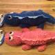 Klicka på bilden för att se fler leksaker - 3.Plysch ödla 40cm ange färg i beställning