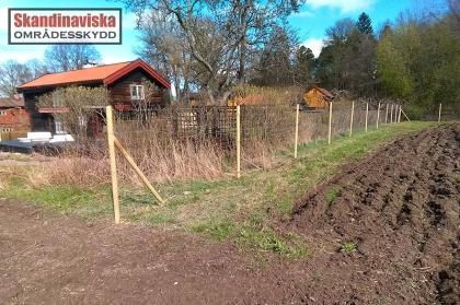 Viltstängsel för lantbruk